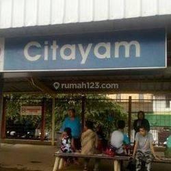 Tanah Kavling Cakep, Strategis, Cuma 15 menit ke Stasiun Citayam