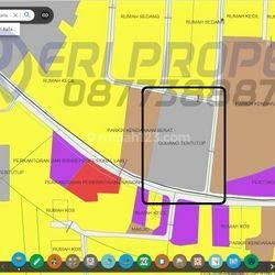 Tanah Industri 2650 m2 (40x60) ROW 22 Raya Semper Plumpang Jakarta Utara