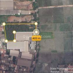 Tanah di Jl. Rororotan Jakarta Utara