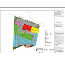 (DH) Tanah Cluster Central Arjasari Bandung, lokasi jl. utama arjasari banjaran