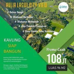 Tanah kavling perumahan islami 20mnt Taman kota baleendah buah batu