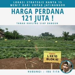 Tanah Kavling Siap Bangun Harga Murah 121 Juta Lokasi Hanya 15 Menit Dari UNPAD Jatinangor
