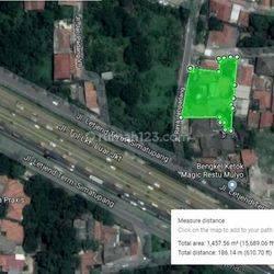 Tanah/lahan komersil Jl. Jatipadang raya Jakarta Selatan