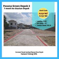 Diskon 25%: Tanah Kavling Area Grand Depok City, Samping Alun Kota Depok