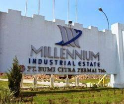 Tanah Millennium Industrial Estate Cikupa Tangerang Banten 1 hektar