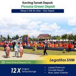 Tanah Kavling 12X Angsuran Tanp Bunga Area GDC Depok