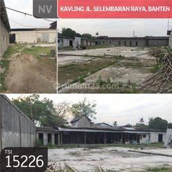 Kavling Jl. Selembaran Raya, Banten, 3.855 m², SHM
