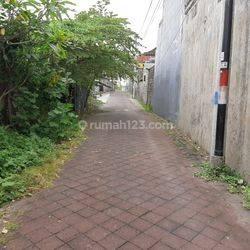 Tanah MURAH 450m2 Canggu Tibubeneng dkt ke Jl. Raya Arah Pantai Berawa Finns Echo Beach Batu Bolong Kuta Utara