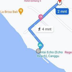 Tanah 12 Are dekat Pantai Echo Beach Club Batu Bolong Batu Mejan Canggu Kuta Utara