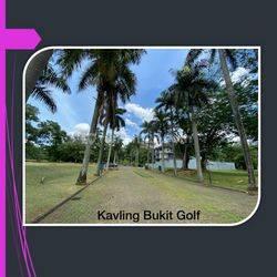 Kavling Bukit Golf BSD City ! Cluster Elite ! Bagus dan Keren !