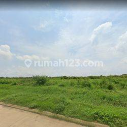 Lahan Kavling Comercial Park luas 35x100 3500m2 di HI Harapan Indah Bekasi