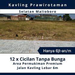 Bisa Cicil 12x Tanpa Bunga; tanah Dekat Stasiun Tugu Jogja & Malioboro