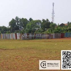 Kavling 1,8 Ha pinggir Jl Raya Puspitek Serpong Setu DM5283 Widya
