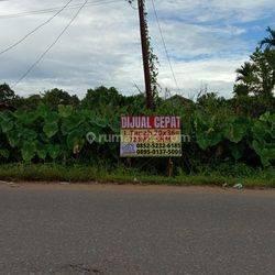Tanah Kavling 720m2 SHM Siap Kelola jalan Sungai raya dalam
