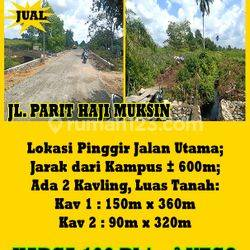 Tanah Parit Haji Muksin, Pontianak, Kalimantan Barat