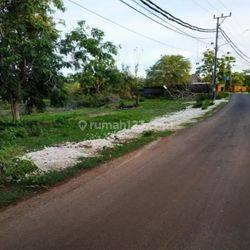 tanah murah di jalan utama balangan ungasan,dkt pantai,kawasan villa