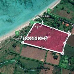 (3810SH) Lahan Eksklusif Pantai Jelenga Nusa Tenggara Barat Murah