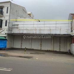 Tanah Komersial di Pinggir Jalan Meruya Utara Raya Cocok dibangun Ruko
