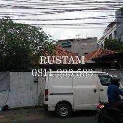 Dijual Rumah Tua Area Tambora Lokasi Di Hoek Hadap Jalan