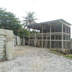 Tanah + Bangunan ex Toko Bangunan Jl. Raya Rawa Boni, Ds. Plonco, Pakuhaji (INN)
