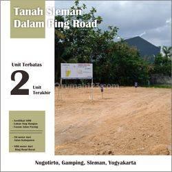 Tanah Kavling Dalam Ringroad Jogja DP 0% Bisa dicicil 15 Tahun Legalitas SHM