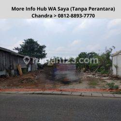 Jual Tanah Kosong,Lokasi Strategis Daerah Kunciran Jaya-Pinang, Lt 410m,AJB Notaris & SHM