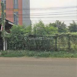 Kavling Dijual 1000m2 (uk. 25x40) di Cipadu Jaya, Kec. Larangan, Tangerang, Banten