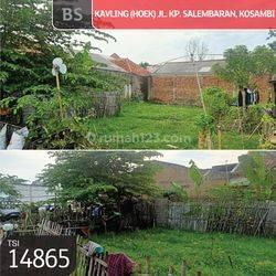 TSI/14865 (For Sale) Kavling (Hoek) Jl. Kp. Salembaran, Kosambi, Tangerang, 10x39m, AJB