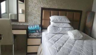 Apartemen Mediterania Garden 2BR Full Furnish High Floor Tower Heliconia View City