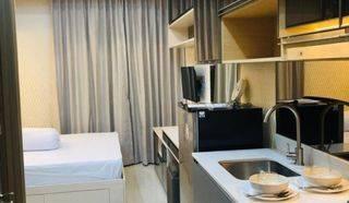 Studio taman anggrek residence furnish mewah, harga murah, lantai rendah, bersih dan rapih