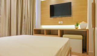 Type Studio Design Elegand, Apartement Taman Anggrek Residence, 26m2, Full Furnish, Siap Huni, Jakarta Barat Grogol