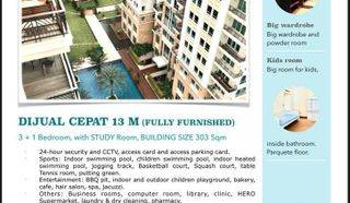 Apartemen Pakubuwono Residence 3+1BR