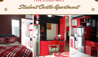 STUDENT CASTLE APARTMENT MURAH FULLY FURNISHED