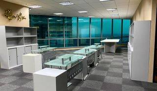 Office ST Moritz Sudah Furnished Siap Huni