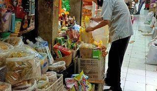 Ruang Usaha Kios Gandeng di Pasar Jaya Pluit Jakarta Utara