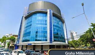 Kantor Virtual Graha Millennium Lantai 1 - Satu Harga Plan - Senen Kota Jakarta Pusat