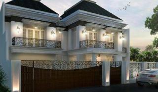 Brandnew klasik modern house.  400/515m2.