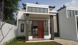 Rumah Cibubur Depok Konsep Bali 5 Menit ke Pintu Tol