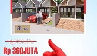 Super Cepat Hanya 8 unit Rumah Murah Bahagia dekat Kampus UPI CIbiru Bandung