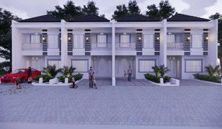 Rumah modern strategis dekat stasiun Depok baru