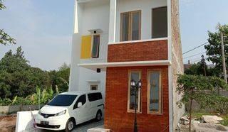 Rumah Cantik Desain Minimalis di Cibinong Bogor 45 Menit dari Jalan TB Simatupang Jakarta via Tol