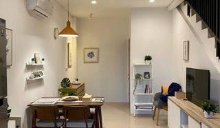 Rumah Cantik Fully Furnish Bisa Buka Usaha 3 lantai