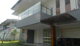 Beautiful and Modern Compound House in Cipete Area with Swimming Pool and Nice Backyard Terrace