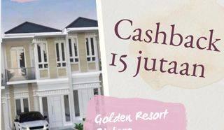 Hunian asri bintaro termurah, Promo cashback 35JT/Kanopi