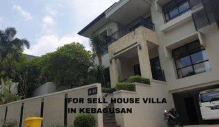 Rumah Mewah di Kebagusan Jakarta Selatan