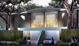 Rumah dalam komplek Green Living Fasilitas Lengkap