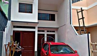 Rumah 2 Lantai Murah di Warakas Tanjung Priok Akses mobil hanya 10 menit ke mall kelapa gading