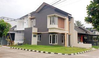 Turun Harga, BU!! Rumah Lux Minimalis 2Lt dlm cluster area Arcamanik