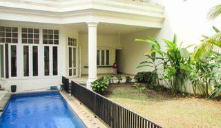 Big Stand-alone house in Kemang, 6 BR with Pool and Garden, Ready to move in!