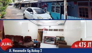 Rumah 2 Lantai Jalan Hassanudin, Pontianak Barat